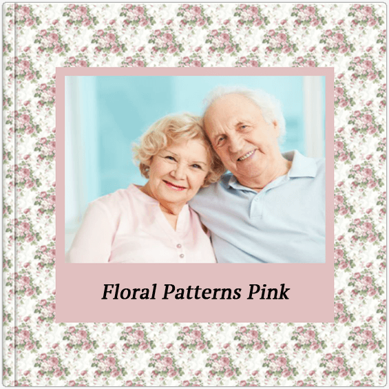 Fotoalbum Floral Patterns Pink Colorland