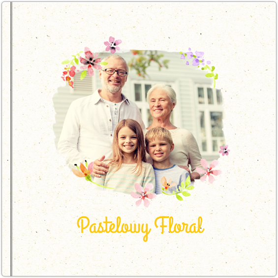 Fotoalbum Pastelowy floral - Colorland