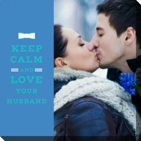 Fotoobraz Keep Calm and Love Your Husband Colorland